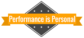 Performance is Personal, Logo